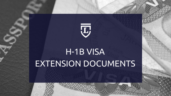H1B Extension Documents