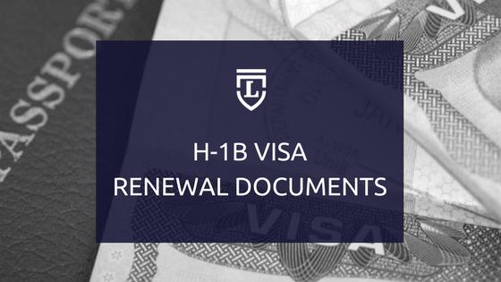 H1B Renewal Docs