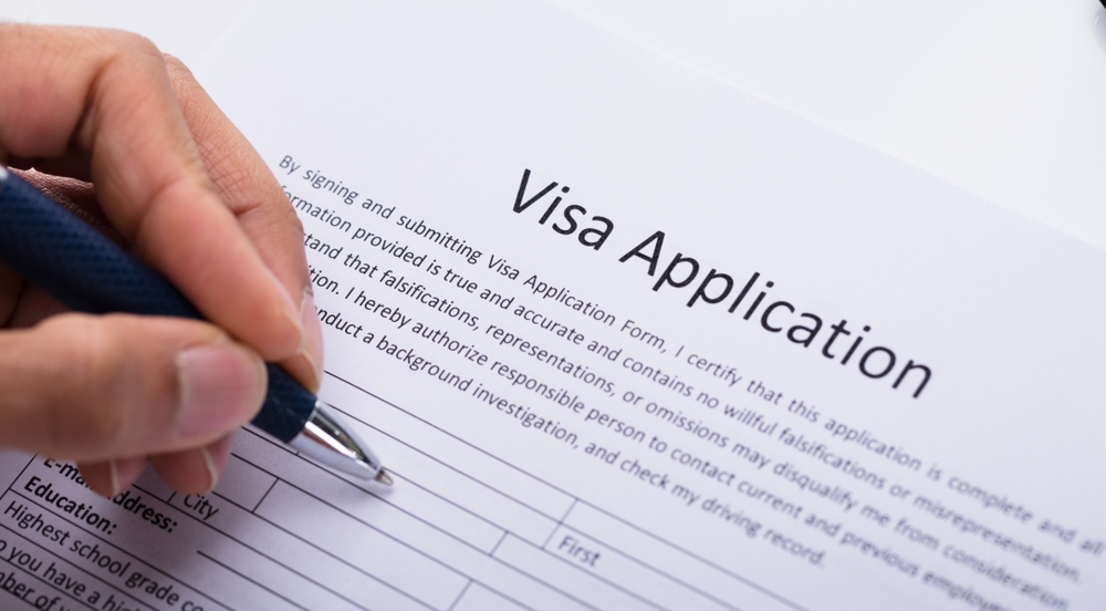 Visa Application Paperwork